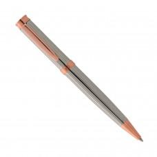 Στυλό από ατσάλι ασημί ρόζ