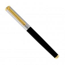 Στυλό ατσάλινο μαύρο ασημί χρυσό