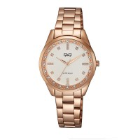 Γυναικείο ρολόι ροζ χρυσό με μπρασελέ