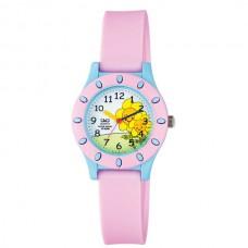 Ρολόι παιδικό με ρόζ λουράκι