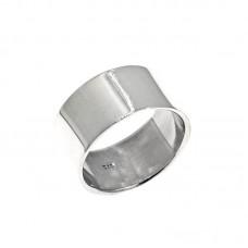 Ασημένιο δαχτυλίδι βέρα μασίφ