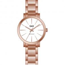 Ρολόι ρόζ χρυσό με μπρασελέ