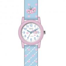 Ρολόι παιδικό με μπλέ λουράκι πολύχρωμο
