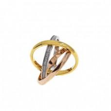 Δαχτυλίδι ατσάλινο βέρα τριπλή