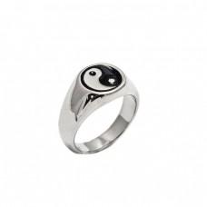 Δαχτυλίδι ατσάλινο ανδρικό Yin Yang
