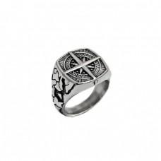 Ανδρικό δαχτυλίδι ατσάλινο