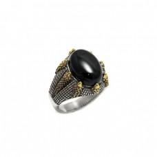 Ανδρικό δαχτυλίδι ατσάλινο με όνυχα