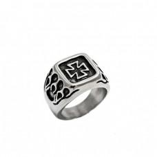 Ατσάλινο δαχτυλίδι σταυρός