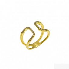 Δαχτυλίδι ασημένιο ανοιχτό ΚΟΣΜΗΜΑΤΑ