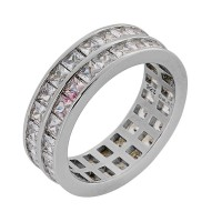 Δαχτυλίδι διπλό με ζιργκόν