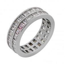 Δαχτυλίδι διπλό με ζιργκόν ΚΟΣΜΗΜΑΤΑ