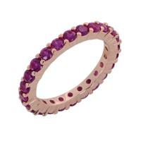 Δαχτυλίδι με φούξια ζιργκόν