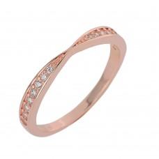 Δαχτυλίδι ασημένιο με ζιργκόν ΚΟΣΜΗΜΑΤΑ
