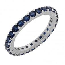 Δαχτυλίδι με μπλέ ζιργκόν