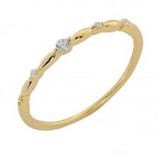 Δαχτυλίδι βεράκι με ζιργκόν