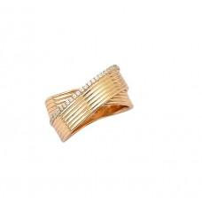 Ασημένιο δαχτυλίδι διπλή βέρα με ζιργκόν
