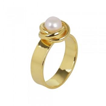 Δαχτυλίδι χειροποίητο σε χρυσό