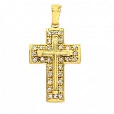 Μενταγιόν σταυρός ΚΟΣΜΗΜΑΤΑ