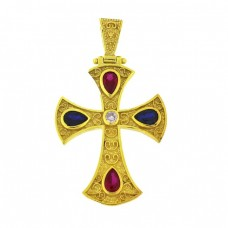 Ασημένιος σταυρός βυζαντινός ΚΟΣΜΗΜΑΤΑ
