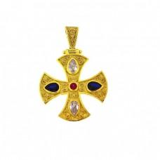 Σταυρός ασημένιος βυζαντινός ΚΟΣΜΗΜΑΤΑ