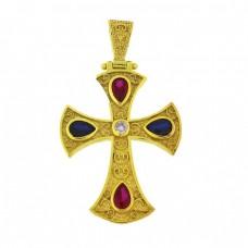 Ασημένιος σταυρός βυζαντινός
