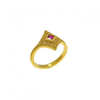 Δαχτυλίδι ρόμβος βυζαντινό