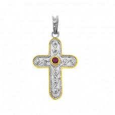 Μενταγιόν σταυρός βυζαντινός