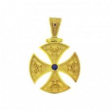Βυζαντινός σταυρός σε χρυσό