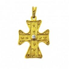 Βυζαντινός σταυρός μενταγιόν