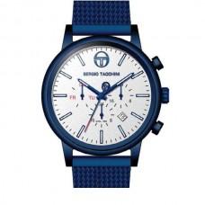 Ρολόι ανδρικό με μπλέ μπρασελέ ΡΟΛΟΓΙΑBIJOUX-JEWELRY