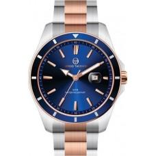 Ρολόι ανδρικό με μπλέ καντράν ΡΟΛΟΓΙΑBIJOUX-JEWELRY