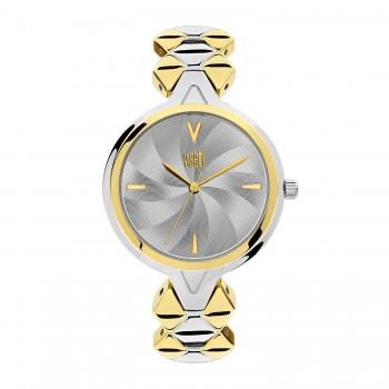 Ρολόι με μπρασελέ χρυσό ασημί ΡΟΛΟΓΙΑ