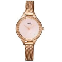 Γυναικείο ρολόι σε ρόζ χρυσό με κρύσταλλα ΡΟΛΟΓΙΑ