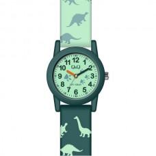 Παιδικό ρολόι με πράσινο λουράκι ΡΟΛΟΓΙΑ